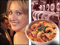 Paula Radcliffe, lager and curry