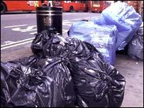 Street rubbish