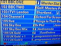 Sky Digital EPG