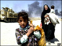 Iraqi civilians