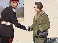 Princess Anne last visited Northern Ireland in September 2002