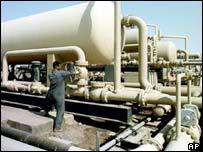 West Qurna oil field in Iraq