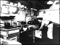 Churchill's kitchen