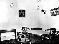 Churchill's dining room