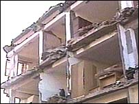 earthquake damage in Algeria