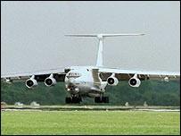 Ilyushin-76 aircraft