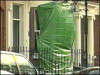 The house in Liverpool where the explosion took place