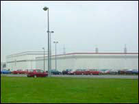 LG Phillips plant in Newport