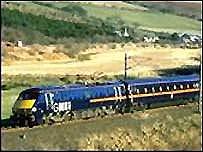 GNER train