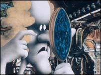 Monty Python cartoon, BBC/Python Pictures