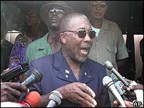 Liberian President Charles Taylor