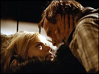 Nicole Kidman and Paul Bettany in Dogville