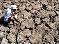 Drought conditions in Bhopal, India