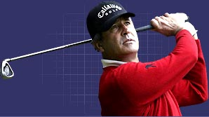 Seve shows you how to get out of a bunker