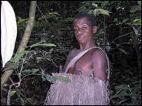 A pygmy