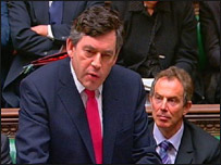 Gordon Brown delivers his Budget speech