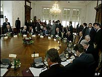 Salzburg summit of central and eastern European leaders