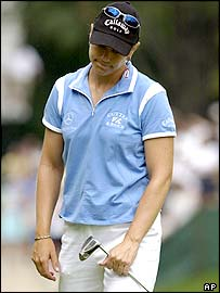 Sorenstam's bogey at the eighth cost her dear