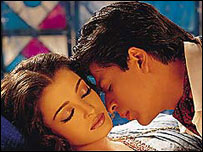 Shahrukh Khan and Aishwarya Rai star in Bollywood's Devdas