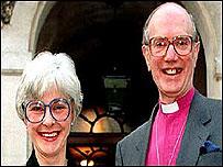 Bishop Michael Turnbull and wife Brenda