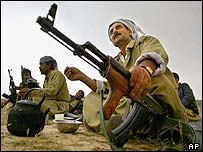 Peshmergas rest