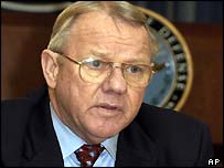 Jay Garner is a friend of Donald Rumsfeld