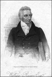 Engraving of William Roscoe