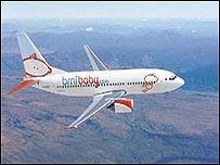 bmibaby aeroplane
