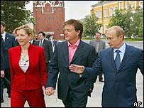 Heather Mills, McCartney and Putin