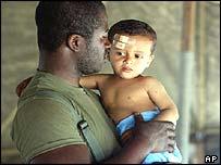 The war in Iraq has left many children injured