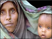 Eritrean mother and child