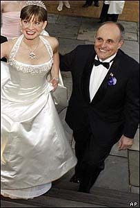 Rudolph Giuliani and Judith Nathan