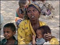 Villagers in Dir Sakar in Ethiopia