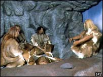 Neanderthal scene
