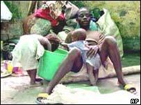 Displaced Liberians