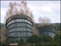Ravenscraig was demolished in 1996