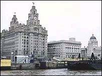 Liverpool's Pier Head