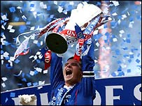 Barry Ferguson finally gets his hands on the SPL trophy