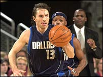Dallas guard Steve Nash