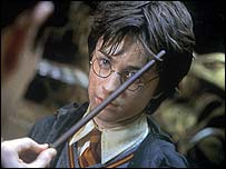 Still from Chamber of Secrets DVD