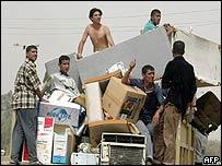 Looting in Baghdad