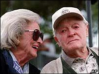 Bob Hope and his wife Dolores