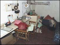 Inside Stannington nuclear bunker