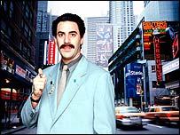 Ali G as Borat