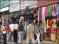 Srinagar street