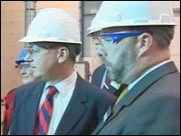 Jack McConnell (left)
