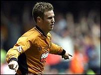 Wolves scorer Kenny Miller