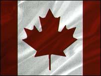 Canadian flag, BBC