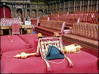House of Lords interior, BBC