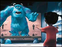 Still from Monsters Inc, Image.Net
